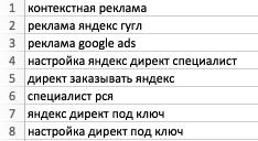 Как быстро собрать семантическое ядро для запуска контекстной рекламы
